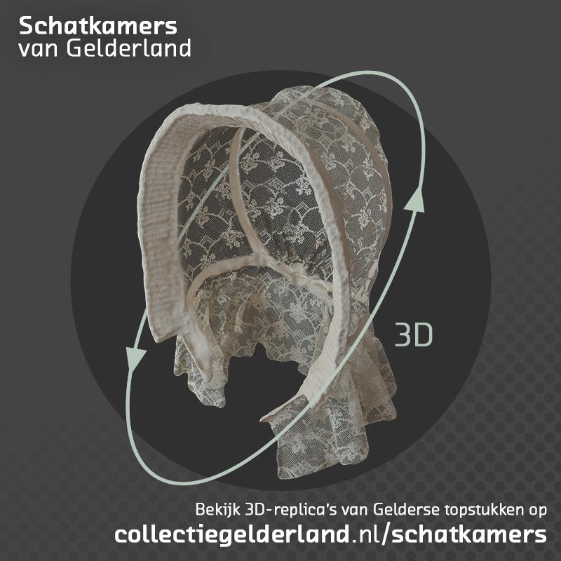 3D-replica's vertellen het Verhaal van Gelderland